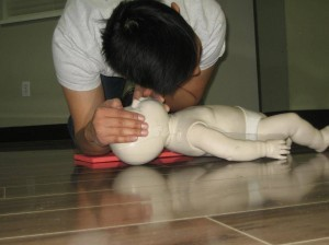 standard first aid and CPR re-certification in Calgary, Alberta