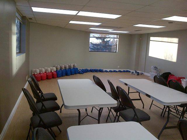 H2S Training room