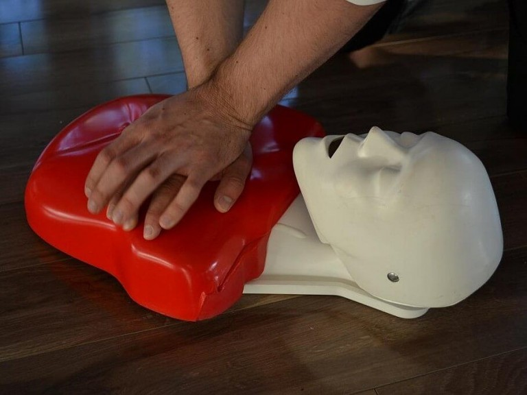 Red Cross CPR Training 1